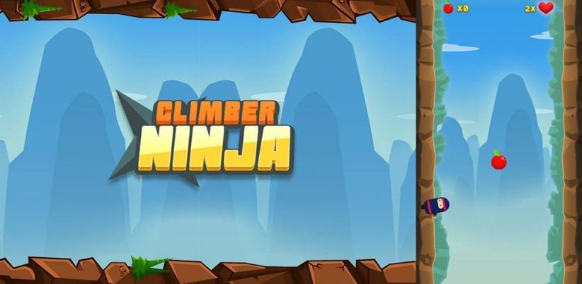 Hindari Rintangan dengan Kecekatanmu dan Raih Apel untuk Terus Melaju di Game Climber Ninja