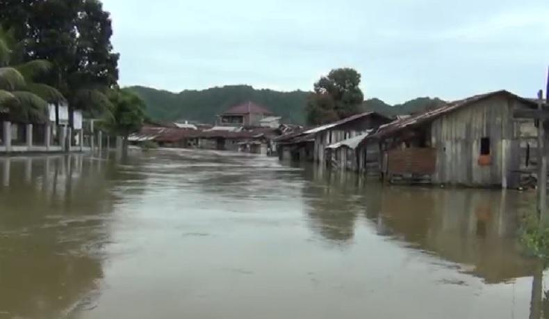 Ratusan Rumah di Aceh Besar Terendam Banjir akibat Hujan Deras selama 2 Hari