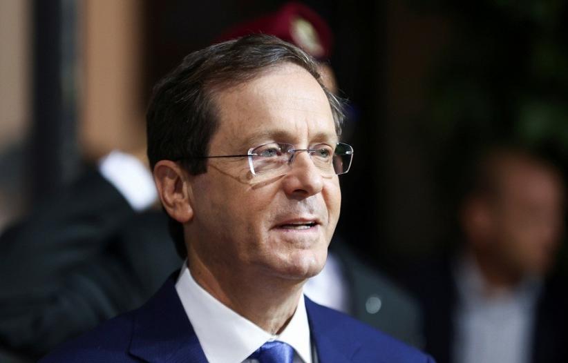 Presiden Israel Isaac Herzog Disuntik Vaksin Covid Dosis Ketiga