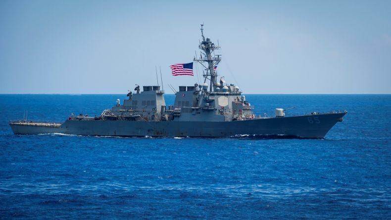 China Klaim Usir Kapal Perang Amerika di Laut China Selatan
