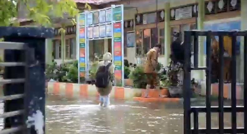Banjir, Sekolah di Aceh Besar Batal Gelar Pembelajaran Tatap Muka