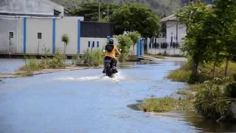 Banjir di Aceh Besar Mulai Surut