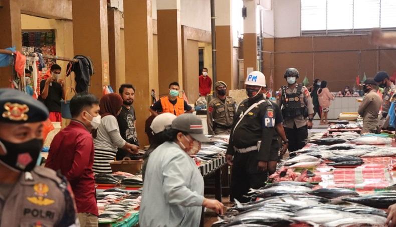 Patroli Prokes dan Pengawasan PPKM Mikro di Halmahera Utara Ditingkatkan