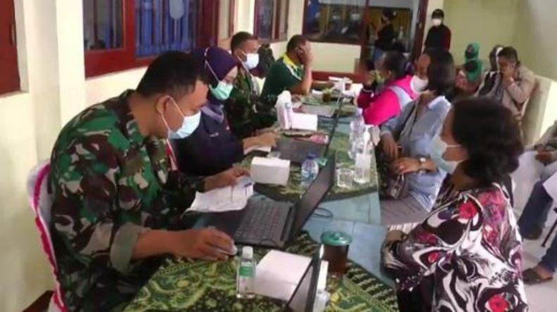 Percepat Vaksinasi Covid-19, TNI Sasar Daerah Pelosok di Temanggung