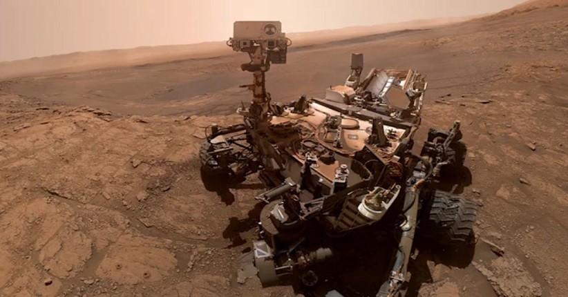 Penjelajah Curiosity Berada Dekat dengan Sumber Metana di Mars