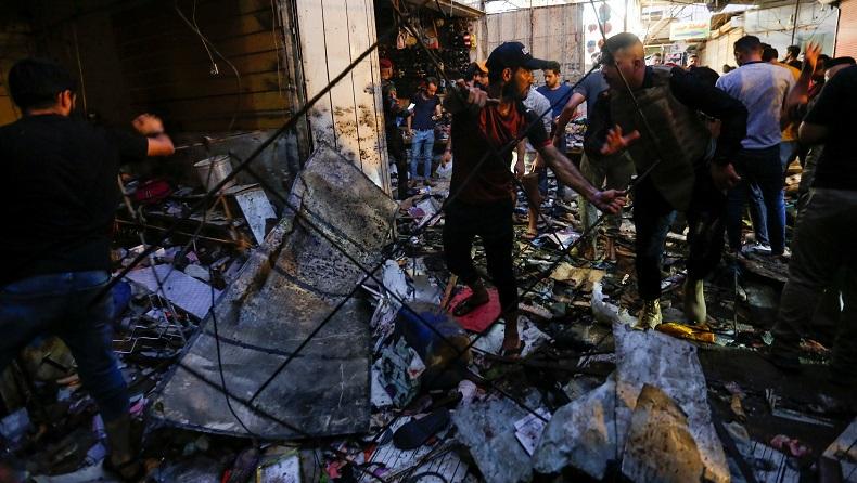 35 Warga Irak Tewas saat Bom Meledak di Malam Takbiran