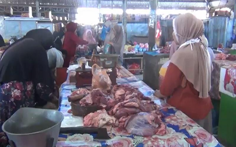 Idul Adha, Harga Daging di Pasaran Naik