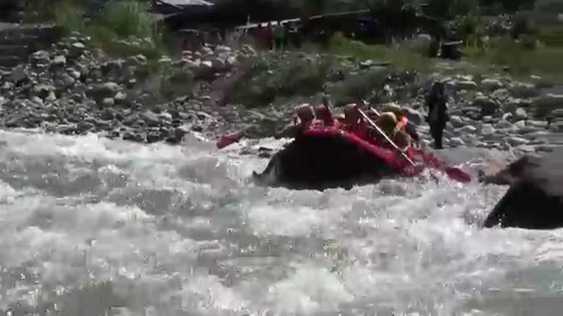 Desa Singah Mulo Kenalkan Destinasi Wisata Arung Jeram