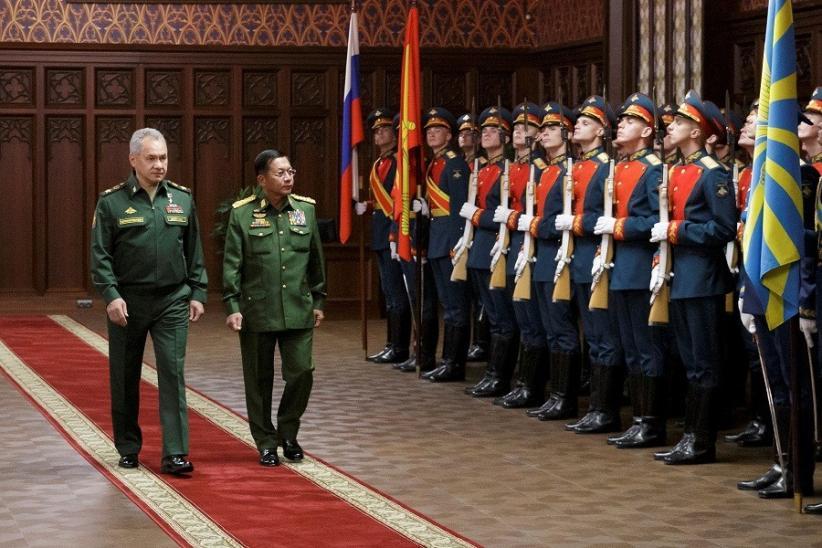 Rusia Bakal Pasok Peralatan Militer hingga Pesawat Tempur ke Myanmar