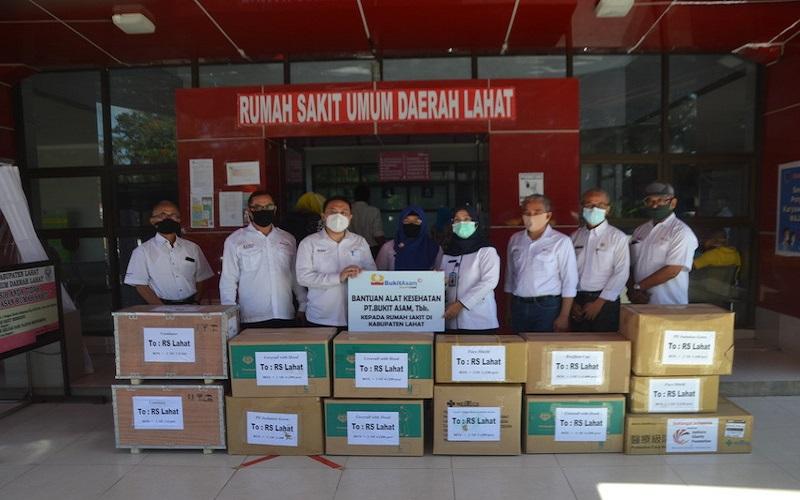 Bantu Pemerintah, PTBA Salurkan Bantuan Rp30,5 Miliar Perangi Covid-19