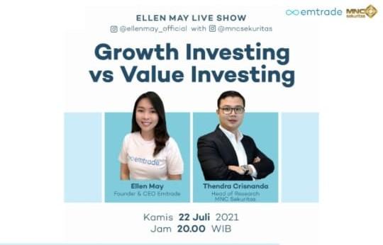 Growth Investing atau Value Investing? Cek IG Live MNC Sekuritas Pukul 20.00 Ini!