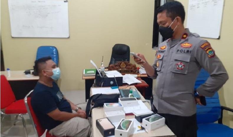 Gelapkan 7 Smartphone, Pemuda di Manado Ditangkap Tim Maleo Polda Sulut