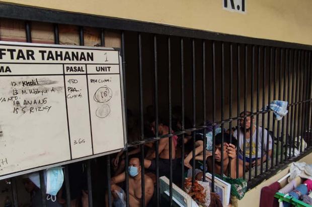 Selama Pandemi, Jumlah Tahanan Polrestabes Semarang Lebihi Kapasitas