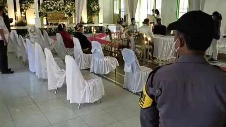 Berpotensi Timbulkan Kerumunan, 2 Acara Ijab Kabul Ditunggui Satgas Covid-19