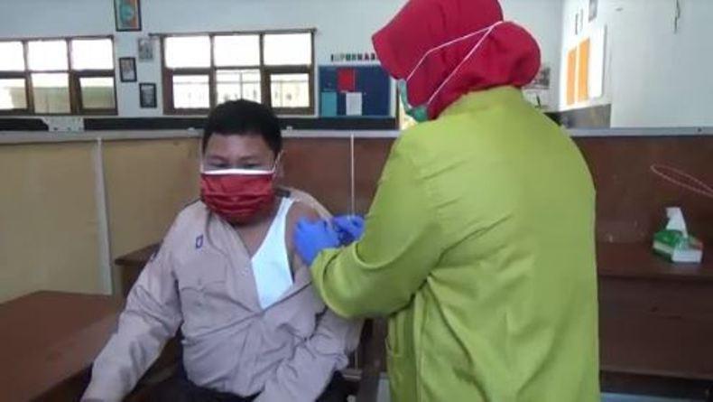 Vaksinasi Covid-19 di Boyolali Mulai Menyasar Anak Usia 12 Tahun ke Atas