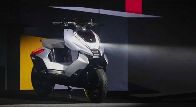 Rambah Asia, Raksasa Sepeda Motor China Siapkan Skuter Listrik Cyber
