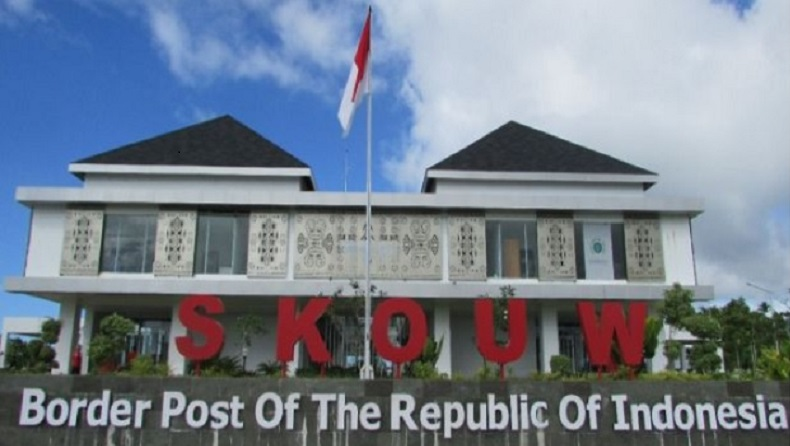 Kasus Covid Melonjak, PLBN Skouw Jayapura Masih Ditutup Total