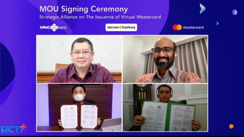 MotionMastercard Pertama di Indonesia, Hary Tanoe: MNC Group Dukung Penuh Pertumbuhan MotionBanking
