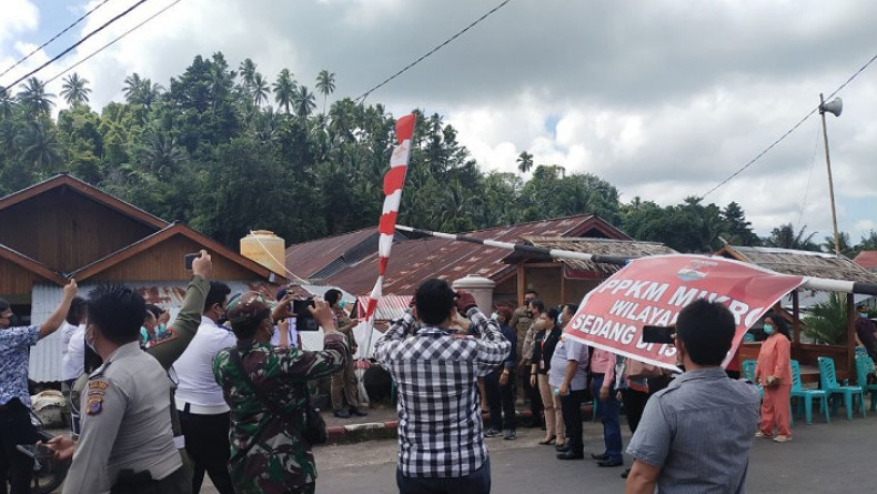 Satgas Covid-19 Cabut Status PPKM di Desa Wioi Minahasa Tenggara