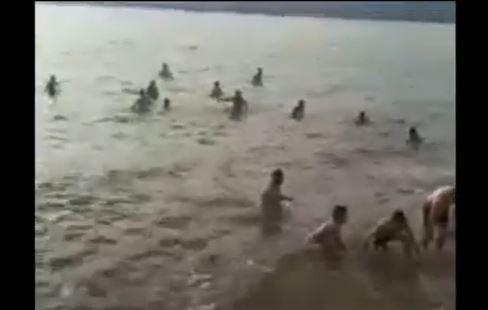 Heboh Puluhan Pasien Covid-19 di Kolaka yang Dikarantina Ramai-Ramai Mandi di Laut