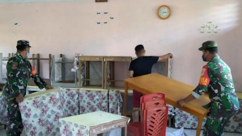 Pemkab Sangihe Siapkan Tempat Isolasi Terpusat Covid-19 di Manganitu