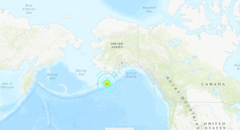 Gempa Magnitudo 7,2 Guncang Alaska, AS Keluarkan Peringatan Tsunami untuk Hawaii