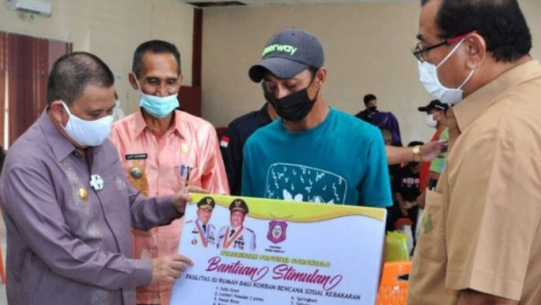 Bantuan bagi 29 KK Korban Kebakaran di Gorontalo Telan Anggaran Rp146,3 Juta
