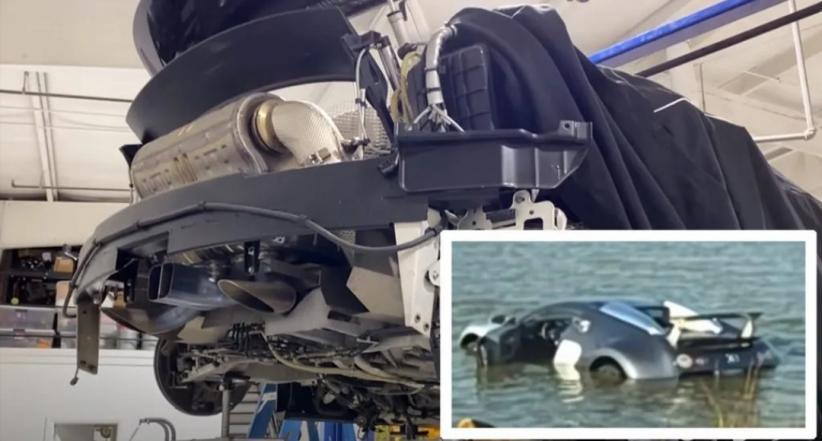 Nyemplung ke Air, Biaya Perbaikan Bugatti Veyron Bikin Stres Tembus Rp10,8 Miliar