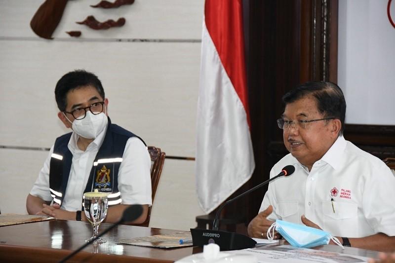 JK Sebut Antrean di PMI Jakarta Seperti Pasar Malam