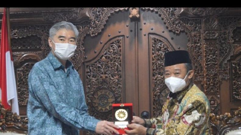 Bahas Moderasi Islam, Dubes AS Sambangi Muhammadiyah
