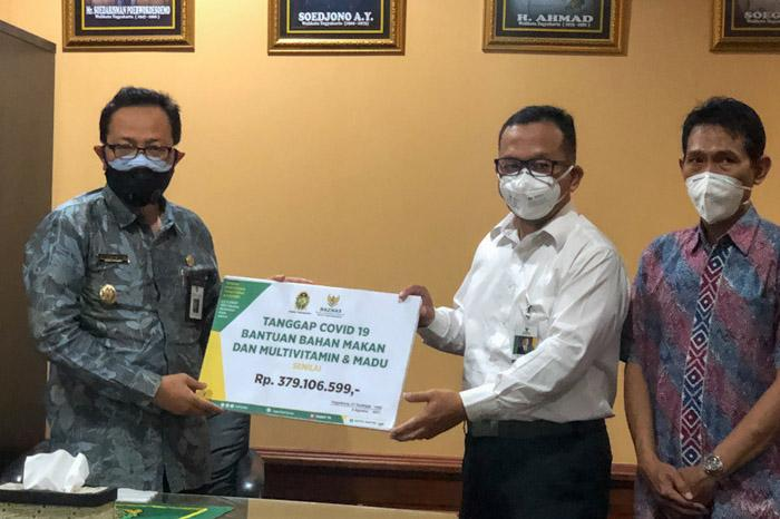 Baznas Kota Jogjakarta Salurkan 1.100 Paket Sembako untuk warga yang Isoman Covid-19