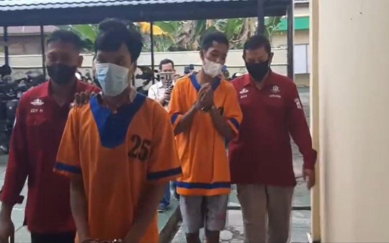 Polisi Tangkap 2 Pelaku Penggelapan  Ratusan Tabung Gas di Barito Utara