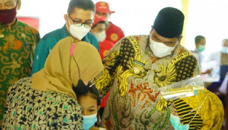 Gandeng BIN, Pemkab Padang Pariaman Gelar Vaksinasi Covid-19 Ratusan Pelajar