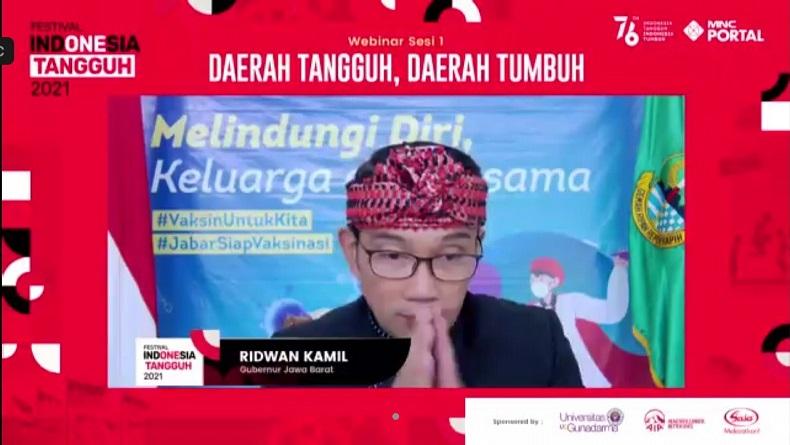 Optimistis, Ridwan Kamil Tunggu Jokowi Deklarasi Kemerdekaan RI dari Covid-19