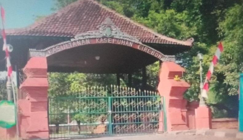 Pascadisegel, Keraton Kasepuhan Cirebon Lengang dan Dijaga Polisi