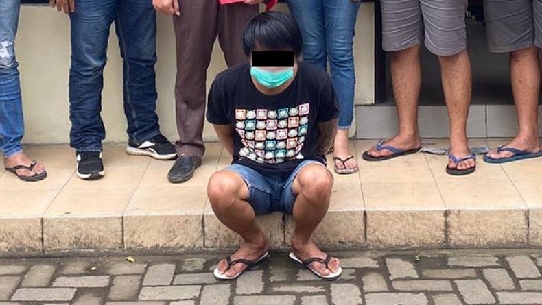 Sempat Lari ke Tomohon, Pelaku Penikaman di Perum CBA Gold Mapanget Tertangkap