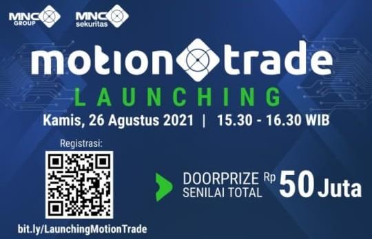 Aplikasi MotionTrade dari MNC Sekuritas Siap Diluncurkan, Ini Deretan Kecanggihannya!