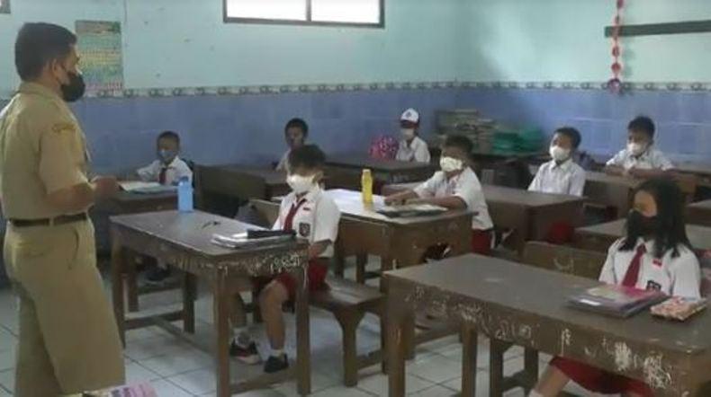 Antusiasme Warnai Pembukaan Pembelajaran Tatap Muka di Jepara