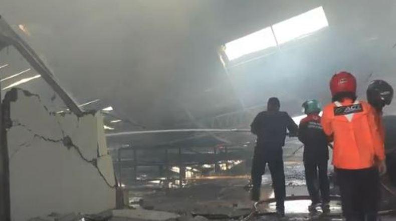 Pabrik Mebel di Jepara Ludes Terbakar, Kerugian Ditaksir Rp5 Miliar