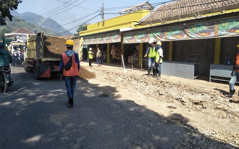 Progres Proyek Perbaikan Jalan Selatan KBB Kurang 1,6 Persen, Kontraktor Ditegur