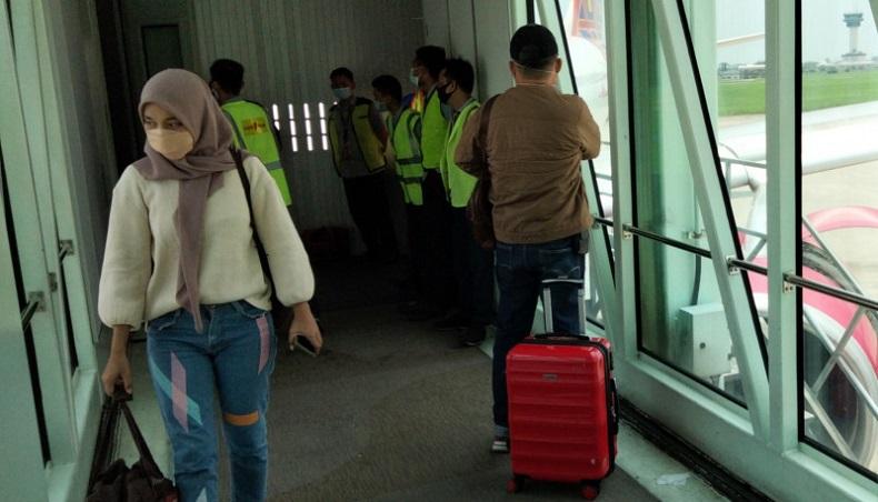 Gangguan Teknis, Pesawat Batik Air Tujuan Aceh-Jakarta Mendarat Darurat di Kualanamu