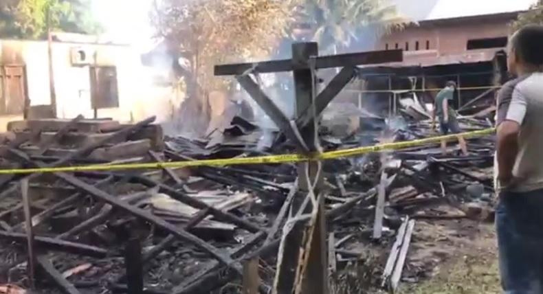 Polisi Dalami Kasus Kebakaran di Kuta Alam yang Tewaskan Pasutri