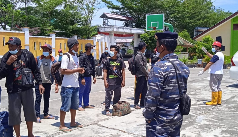 Kapolsek Muntok: Belasan Pekerja Pelabuhan Tanjung Ular yang Positif Covid-19 Berasal dari Luar Bangka