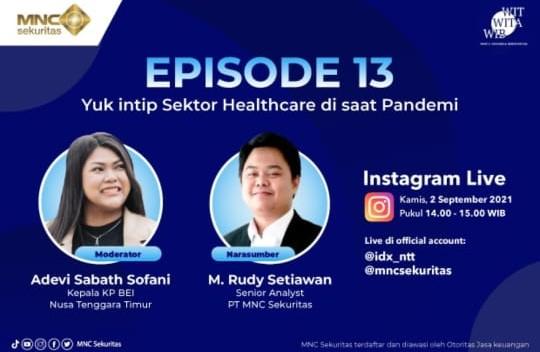 Intip Potensi Cuan Sektor Kesehatan Pasca-Vaksinasi, Cek Instagram Live MNC Sekuritas Pukul 14.00!