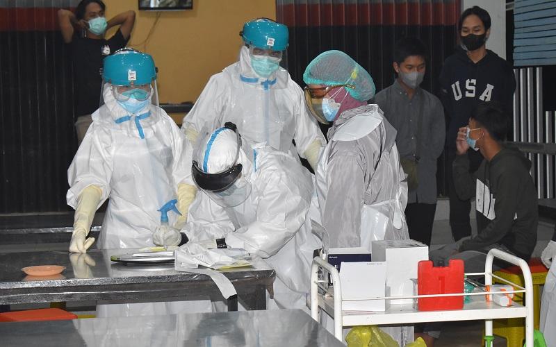 Dites Antigen, 13 Warga yang Kena Operasi Yustisi di Tanah Laut Positif Covid-19
