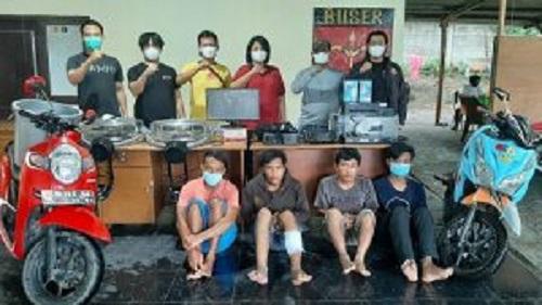 Pelaku Pencurian Komputer 2 Sekolah Ditangkap, 1 Tersangka Ditembak