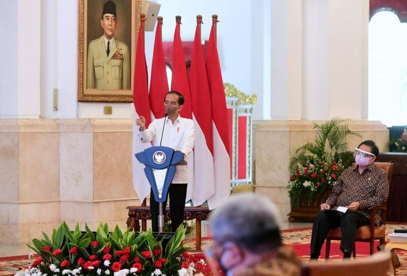 Terima Asosiasi Pengusaha, Jokowi Ingatkan Pandemi Covid-19 Belum Berakhir