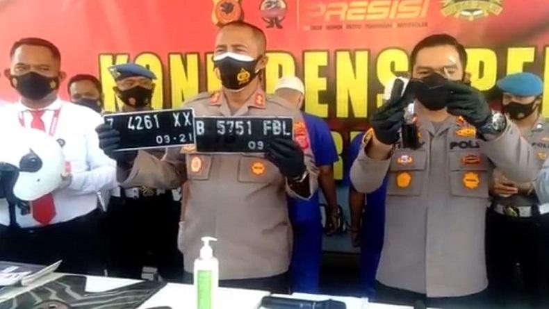 Penggelapan Kendaraan Kredit di Cirebon Terbongkar, 48 Motor Baru Disita