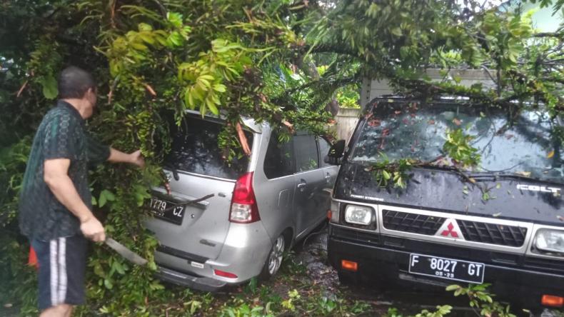 151 Bencana Terjang Kota dan Kabupaten Bogor Selama September 2021