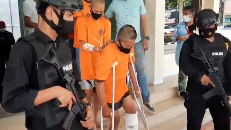 Sindikat Curanmor di Garut Terbongkar, 3 Pelaku Ditangkap, 1 Ditembak